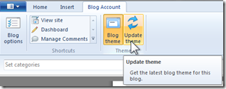 "What does this Windows Live Writer error message mean: """"The blog theme couldn't be downloaded""? (2/4)"