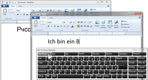 How do I change the On-Screen Keyboard from English to another language? (5/5)