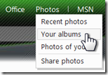 Is there a way to send SkyDrive albums as slide shows? (1/5)