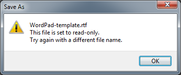 how to change default font in wordpad