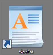 how do i change the default font in wordpad