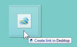 how to put gmail shortcut on desktop windows 7