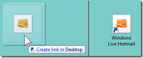 Can I pin my Hotmail Inbox to the Taskbar? (2/6)