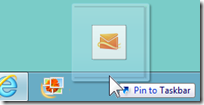 Can I pin my Hotmail Inbox to the Taskbar? (3/6)